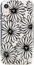 Kate Spade New York Daisy Clear Black iPhone XR Case