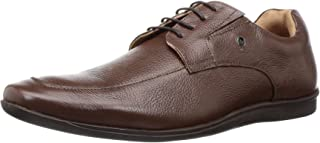 Arrow Men's Onyx Leather Formal Shoes