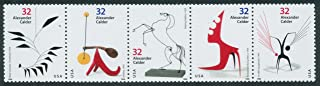 USPS Alexander Calder Sculptor Complete Strip of Five Mint Stamps Scott 3198-3202