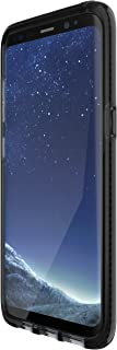 tech21 - Phone Case Compatible with Samsung Galaxy S8 - Evo Check - Smokey/Black