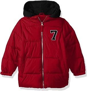 iXtreme Boys Puffer Jacket with Fleece Hood Down Alternative Coat