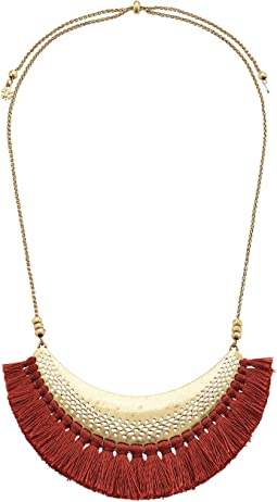 Lucky Brand - Openwork Statement Necklace with Tassels