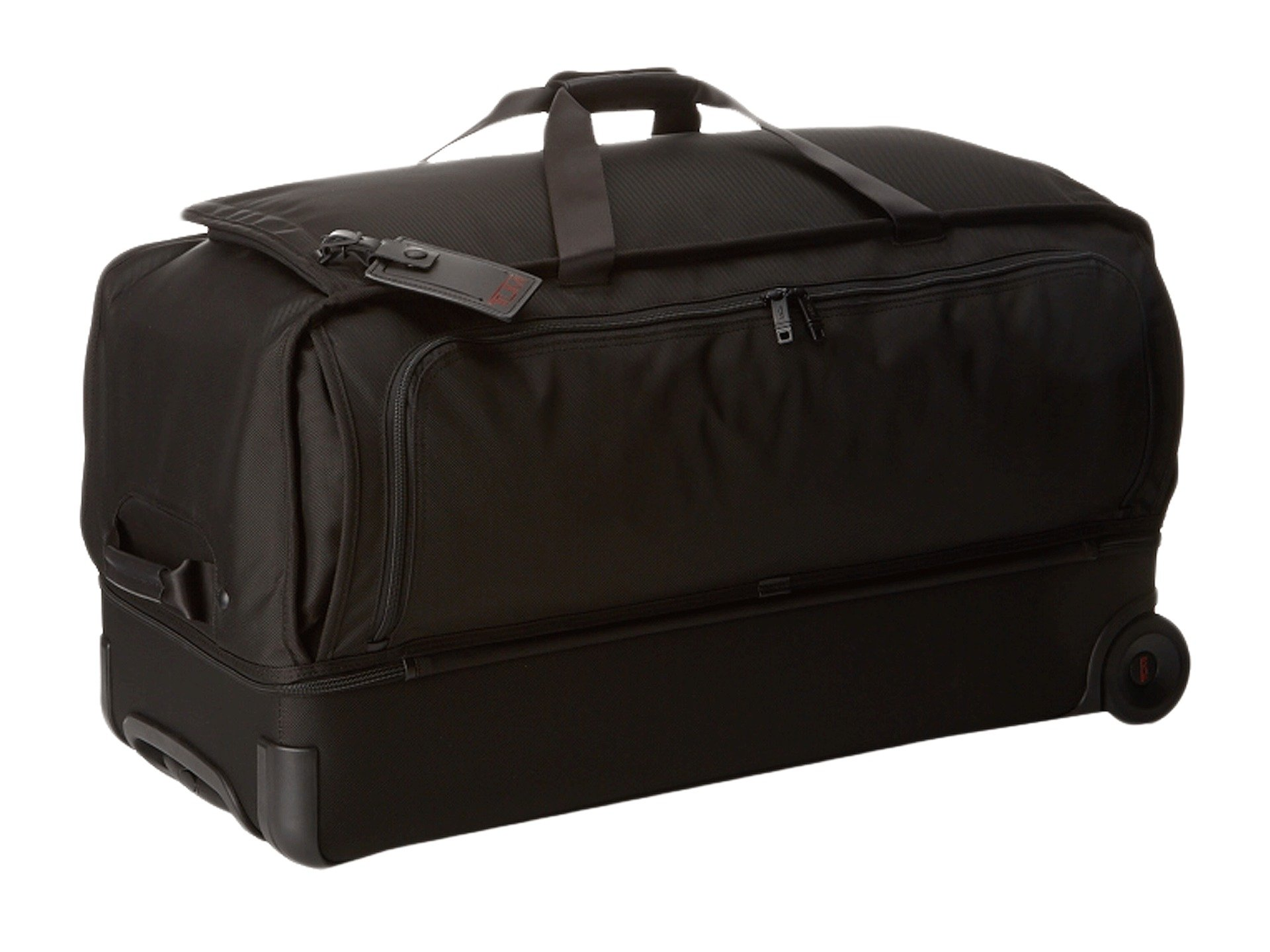 Alpha Tumi 2 Split Wheeled Duffel Black Large Bqx6P