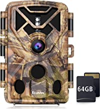 4K 24MP Trail Camera, Hunting Game Camera with 64GB SD...