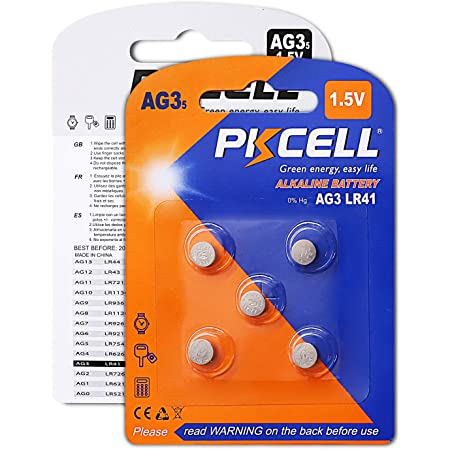 200 AG3 NEMT Cell Knopfzellen Knopfbatterien Uhrenbatterien LR736 LR41 192 392 1