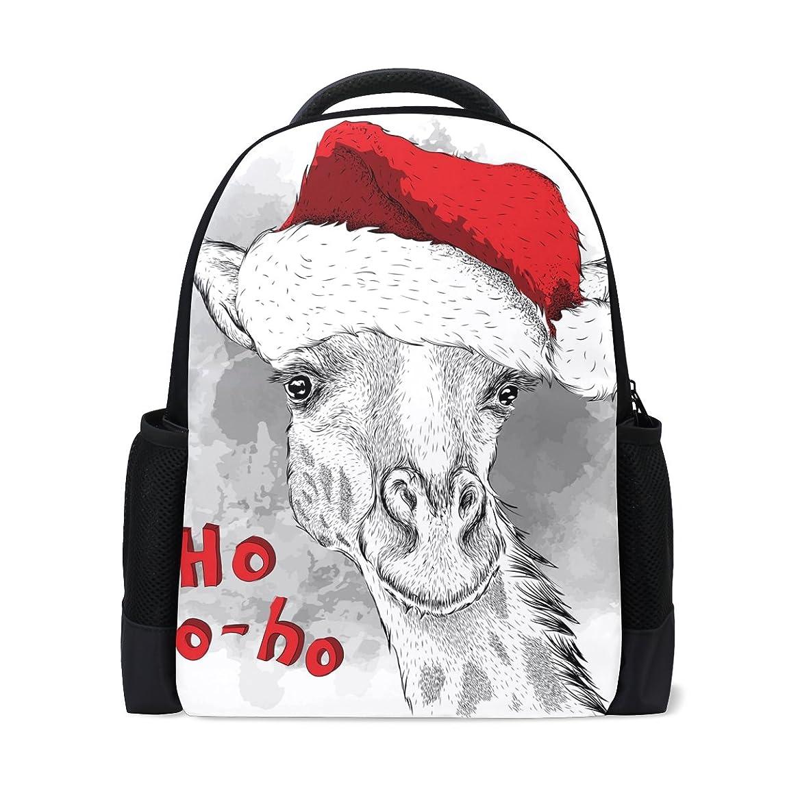 雄弁家ご近所マオリAOMOKI リュックサック バッグ 男女兼用 メンズ レディース 通勤 通学 大容量 しか クリスマス