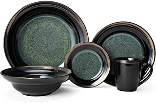 Gourmet Basics Jade Dinnerware Set (60 Piece)