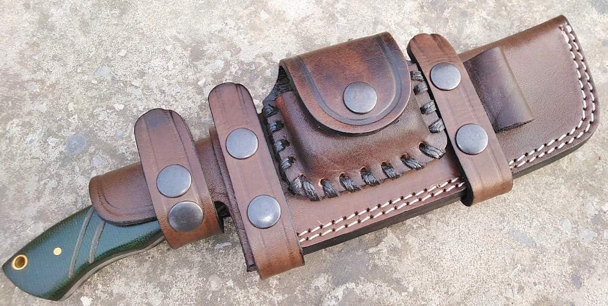 Ottoza Handmade Leather Washington Mall Knife Sheath Hand Left She Tracker Max 82% OFF