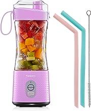 Draagbare Blender voor Smoothie en Protein Shakes - Vaeqozva Persoonlijke Mini Fruit Mixer 4000mAh USB Oplaadbaar On The G...