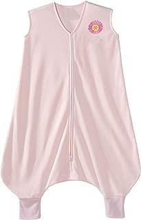 HALO Early Walker Sleepsack Lightweight Knit Wearable Blanket, Pink, Large