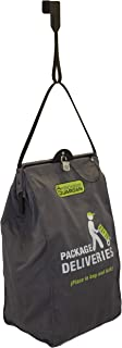Package Guardian - Package Delivery Box For Porch - Slash Proof Bag & Straps - 44ft Steel Cable Sewn Into Bag