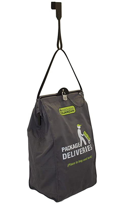 Package Guardian Anti-Theft Slashproof Bag for Home Deliveries with Steel Cables and Over the Door Hook