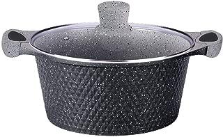 Riess EMAILLE pot noir 12 cm géant nains Marmite avec couvercle