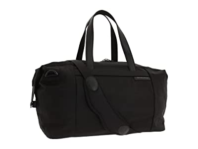 Briggs & Riley Baseline Large Travel Satchel (Black) Duffel Bags