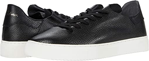 Black Sport Tumbled Leather