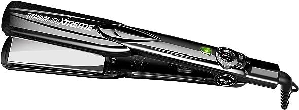 SALON TECH - TITANIUM 450: Professional Hairstyling Flat Iron (1.5 Inches, 450 Degree)