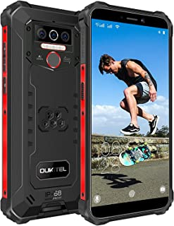 Móvil Libre Resistente OUKITEL WP5 Pro 4GB+ 64GB,8000mAh Batería Android 10 Smartphone IP68 Robusto,Dual Sim 4G Impermeabl...