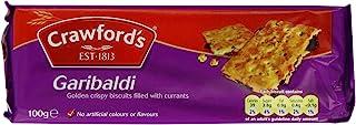 Crawfords Garibaldi Biscuits, 100 Gram (Pack of 12)