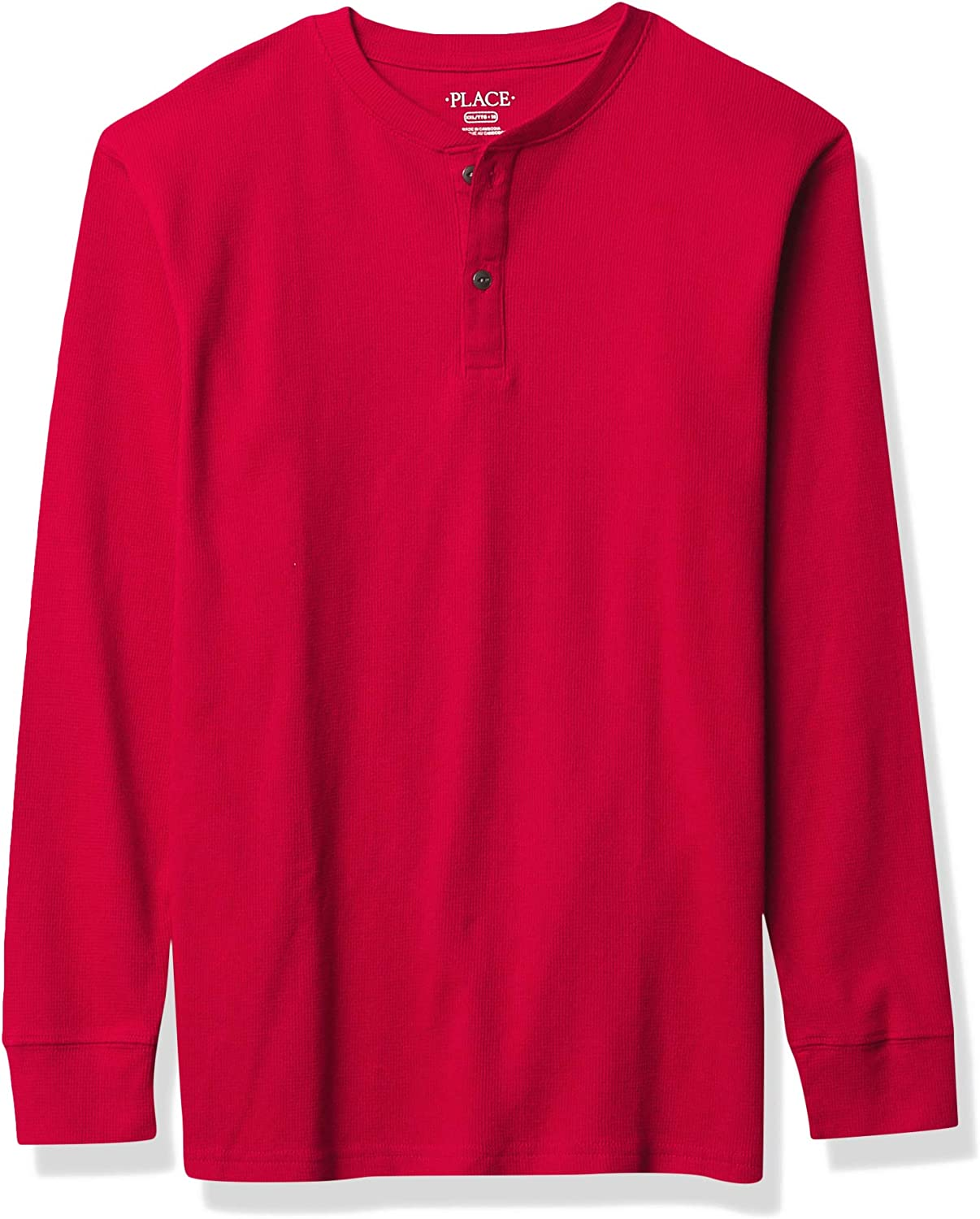 The Children's Place Boys' Thermal Henley Top