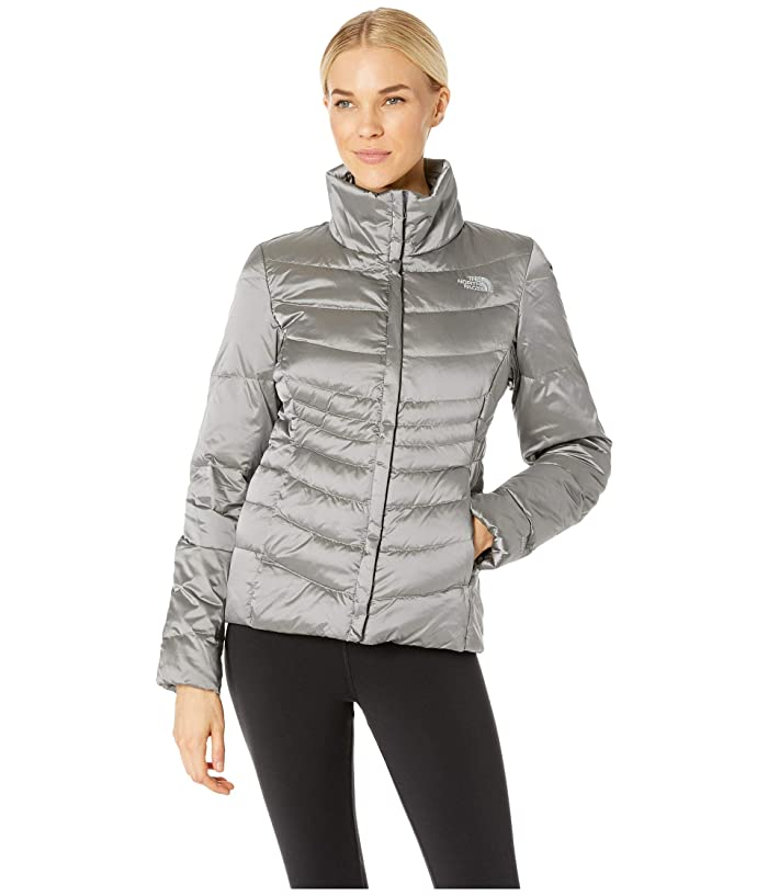 The North Face  Aconcagua Jacket II (Shiny Mid Grey) Womens Coat