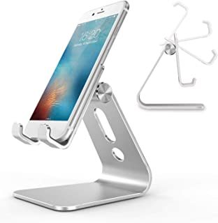 RKINC Universal Desktop Stand for Cell Phones, Phone Dock Cradle holder stand Base for Mobile Phones and Tablets (up to 1...