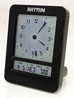 Rhythm LCT077NR02 LCD Table Clock