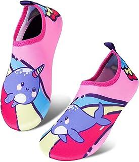 أحذية مائية للأطفال الصغار خفيفة الوزن مانعة للانزلاق جوارب أحذية للشاطئ المشي للأولاد والبنات الصغار
