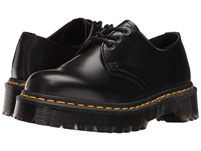 Dr. Martens 1461 Bex (Black Smooth) Shoes