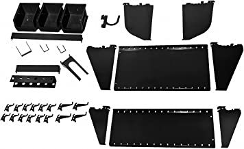 product image for Wall Control, 35-K-WRKBK, Workstation Slotted Accessory Kit, Black