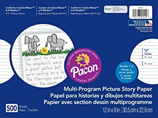 Pacon Multi-Program Picture Story Paper, 12