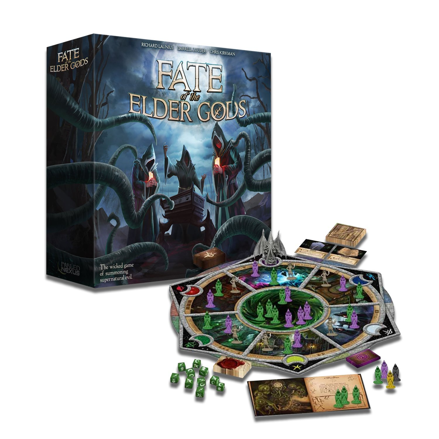 Fable Nexus Games FOEG: Core Fate of The Elder Gods Juego de Mesa, Multicolor: Amazon.es: Juguetes y juegos