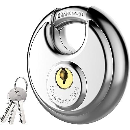 BRINKS Home Security 673-70401 Discus Lock 4 Pack All Keyed Alike