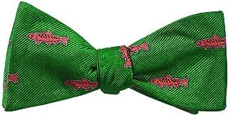 SummerTies Silk Bow Tie - Woven Silk, Printed Silk, Adult Tie Yourself