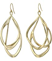 Alexis Bittar - Liquid Gold Orbiting Wire Earrings