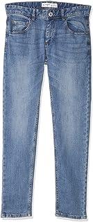 Terranova Side Pocket Mid-Wash Straight Cut Jeans for Men