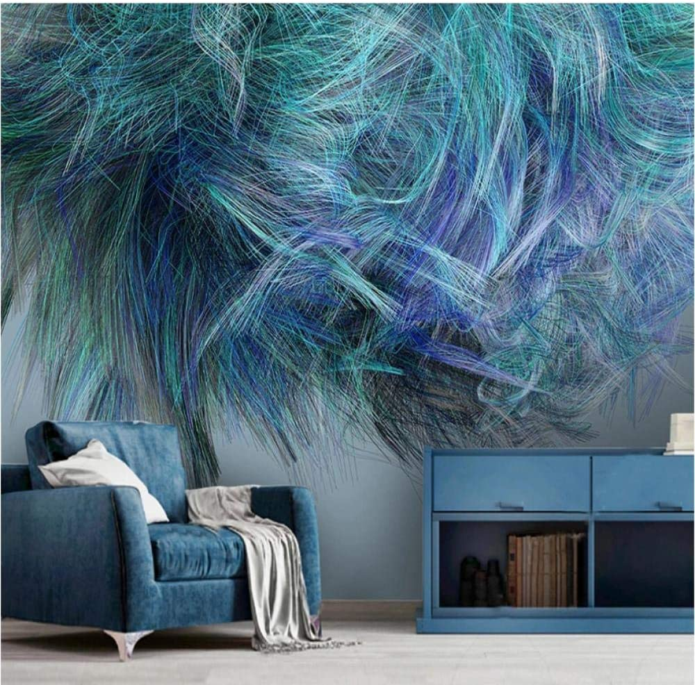 Custom Mural sale Wallpaper for Walls Line Abstract List price Modern 3D Colored
