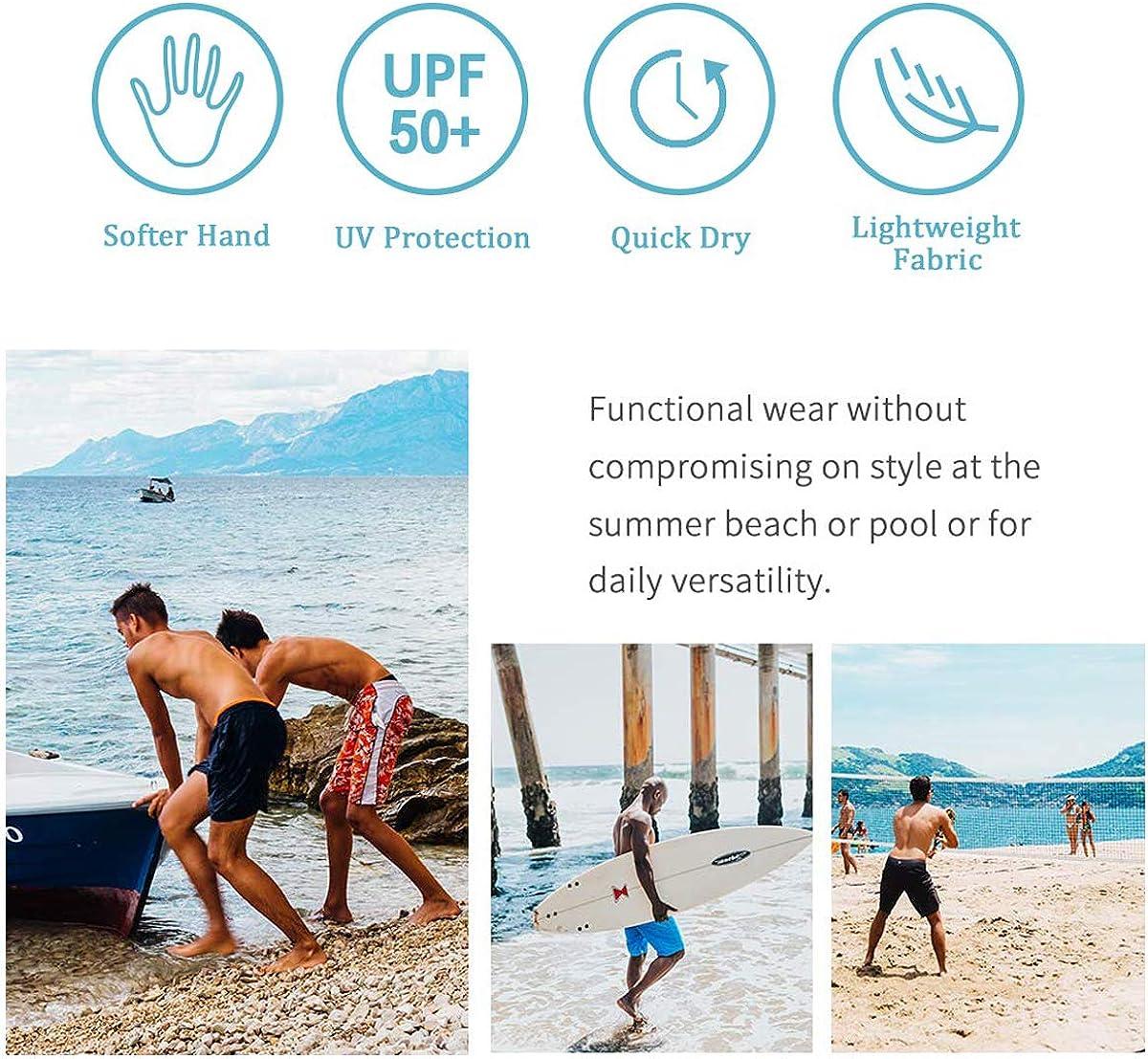 YongColer Men's Beach Shorts Swim Trunks Quick Dry Bathing Suit (Funny Sunglsses Cool Doge)