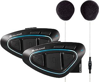 Midland BTX2 - Pro Twin con altavoces Hi-Fi, color azul