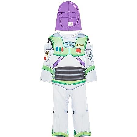 Boys Kids Buzz Lightyear Toy Story Official Disney Fancy Dress Costume 2-8