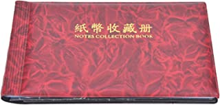 【𝐒𝐩𝐫𝐢𝐧𝐠 𝐒𝐚𝐥𝐞 𝐆𝐢𝐟𝐭】Paper Money Holder, 30 Pages Banknote Collection Book Paper Money Album, Money Banknote Co...