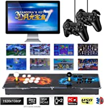 ARCADORA 3D Pandora's Box 7 Joystick and Buttons Arcade Console Machines for Home, 2413 Retro Classic Video Games All in One, Newest System with Advanced CPU, HDMI Output