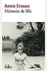Mémoire de fille: Roman Format Kindle
