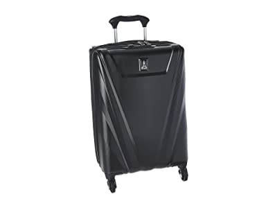 Travelpro 21 Maxlite(r) 5 Expandable Carry-On Hardside Spinner (Black) Luggage