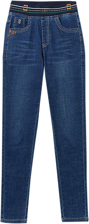 Omaha Mall NREALY Women Skinny Pencil Warm Slim Jeans Selling Stretch Winter Denim