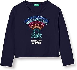 United Colors of Benetton (Z6ERJ) T-SHIRT M/L Meisjes. T-shirt
