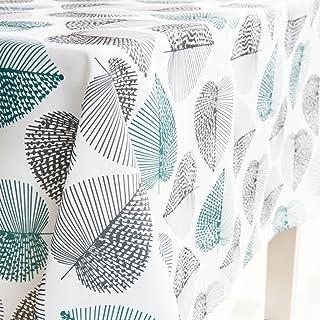 comprar comparacion JameStyle26 - Mantel lavable, diseño de hojas y flores, varios tamaños y diseños, para la cocina o el salón, tejido, 140 x...
