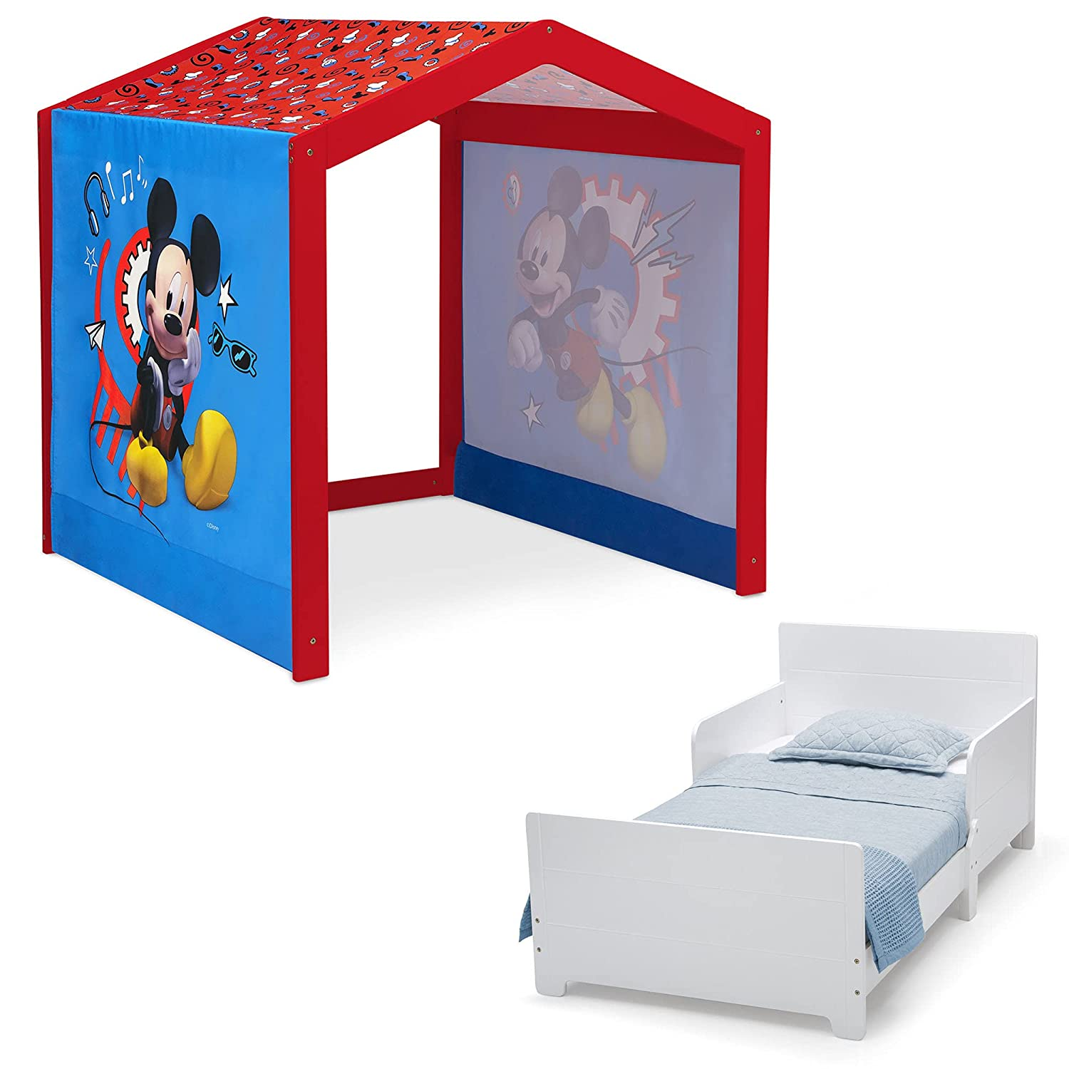 Disney Mickey Mouse Indoor Playhouse with Tent Fabric + overseas MySize Ranking integrated 1st place W