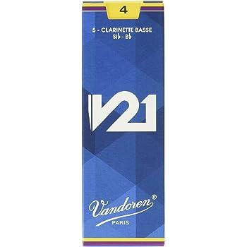 Vandoren CR8225 - Caja de 5 cañas para clarinete bajo: Amazon.es: Instrumentos musicales