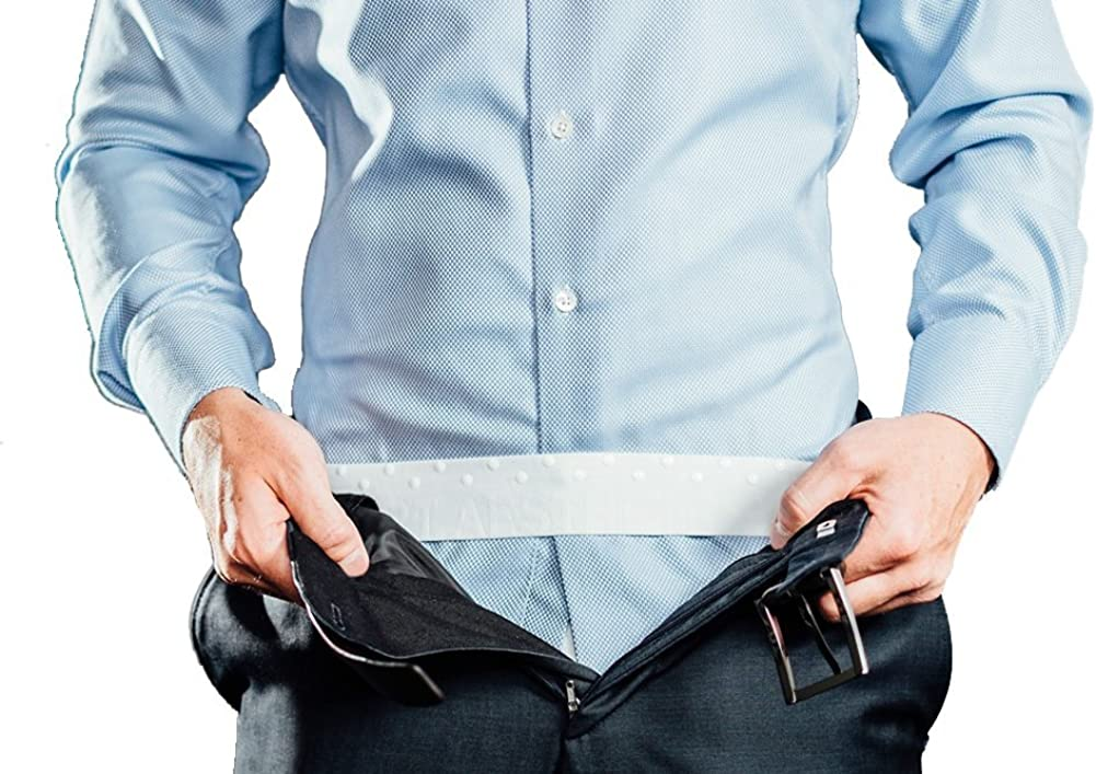 Hemd-Halter SHIRT AESTHETICS Shirt Stays In 5 Farben und 5 Gr/ö/ßen - Fixiert das Hemd in der Hose