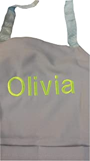 CHEFSKIN PERSONALIZED EMBROIDERY KIDS APRON LIGHTWEIGHT FABRIC. Best Gift Ever